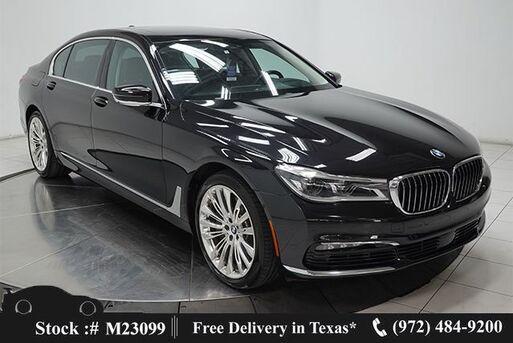 2018_BMW_7 Series_750i DRVR ASST+,EXECUTIVE,NAV,CAM,PANO,$111K MSRP_ Plano TX