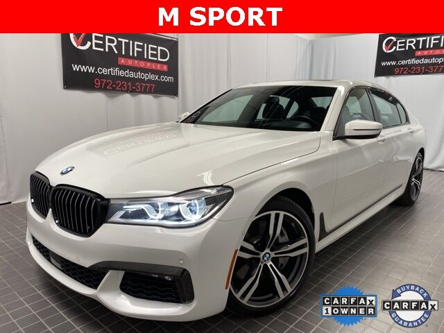 2018 BMW 7 Series 750i Dallas TX