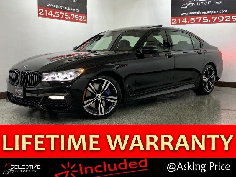 2018 BMW 7 Series 750i M SPORT, COLD WEATHER PKG, NAV, PANO ROOF
