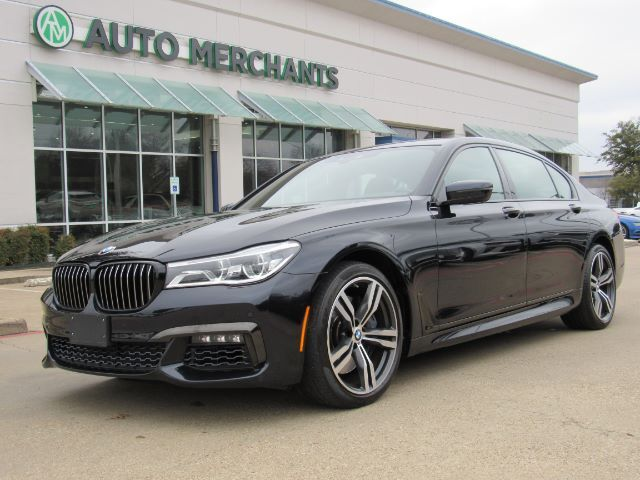 2018 BMW 7-Series 750i ***M SPORT*** Dual Moonroof, Automatic Headlights, Back-Up Camera, Blind Spot Monitor Plano TX