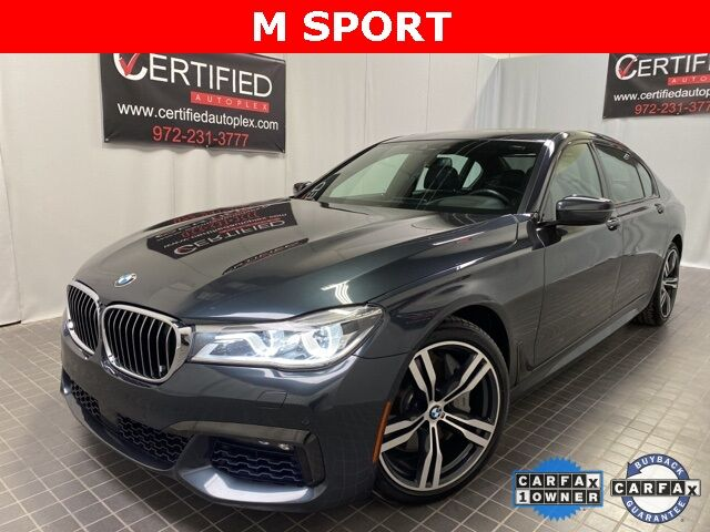 2018 BMW 7 Series 750i M SPORT EXECUTIVE PKG NIGHT VISION Dallas TX