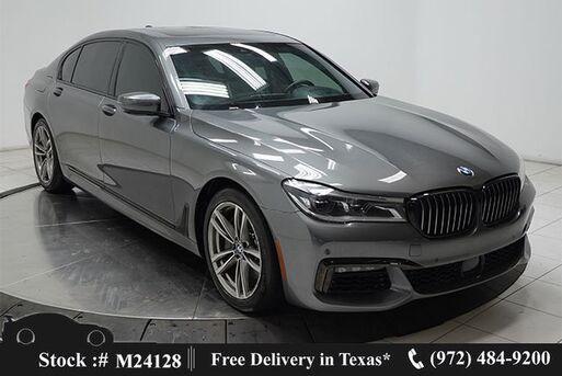 2018_BMW_7 Series_750i M SPORT,DRVR ASST+,LUX REAR STS,$113K MSRP_ Plano TX