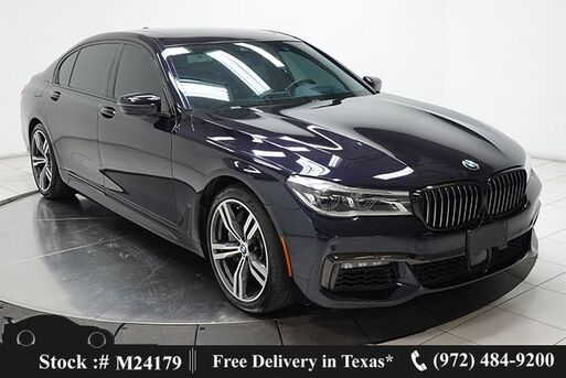 2018_BMW_7 Series_750i M SPORT,DRVR ASST+,NAV,CAM,PANO,$108K MSRP_ Plano TX