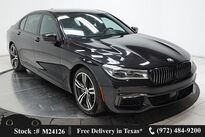 BMW 7 Series 750i M SPORT,DRVR ASST+,NAV,CAM,PANO,$111K MSRP 2018