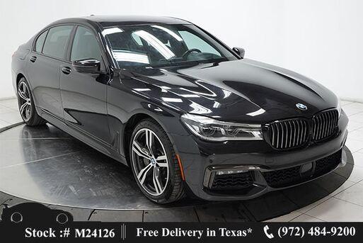 2018_BMW_7 Series_750i M SPORT,DRVR ASST+,NAV,CAM,PANO,$111K MSRP_ Plano TX