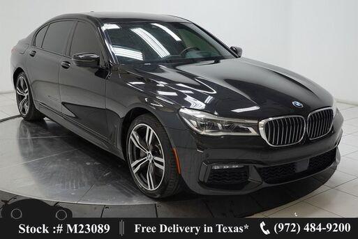 2018_BMW_7 Series_750i M SPORT,DRVR ASST+,NAV,CAM,PANO,CLMT STS_ Plano TX