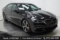 BMW 7 Series 750i M SPORT,LUX STS,NAV,CAM,PANO,4-CLMT STS 2018
