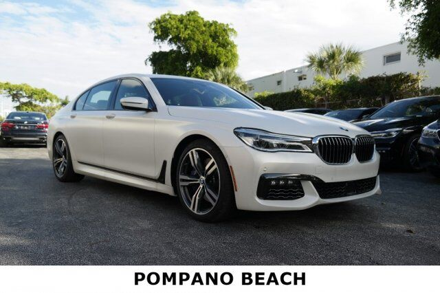 2018 BMW 7 Series 750i Pompano Beach FL