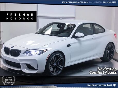 2018_BMW_M2_Heated Seats Back-up Cam Nav Comfort Access_ Portland OR