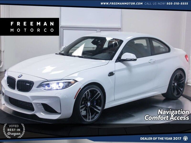 2018 BMW M2 Heated Seats Back-up Cam Nav Comfort Access Portland OR
