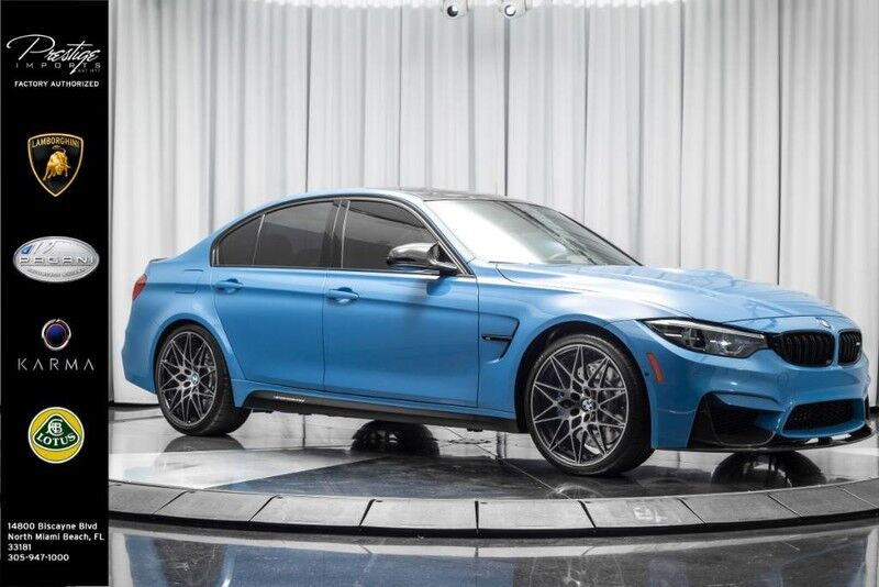2018_BMW_M3__ North Miami Beach FL