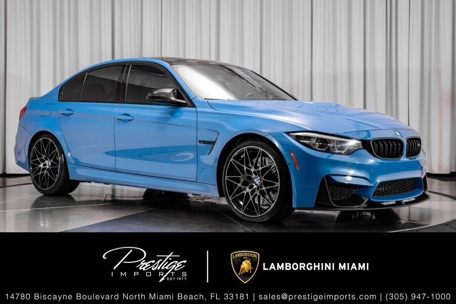 2018_BMW_M3__ North Miami FL