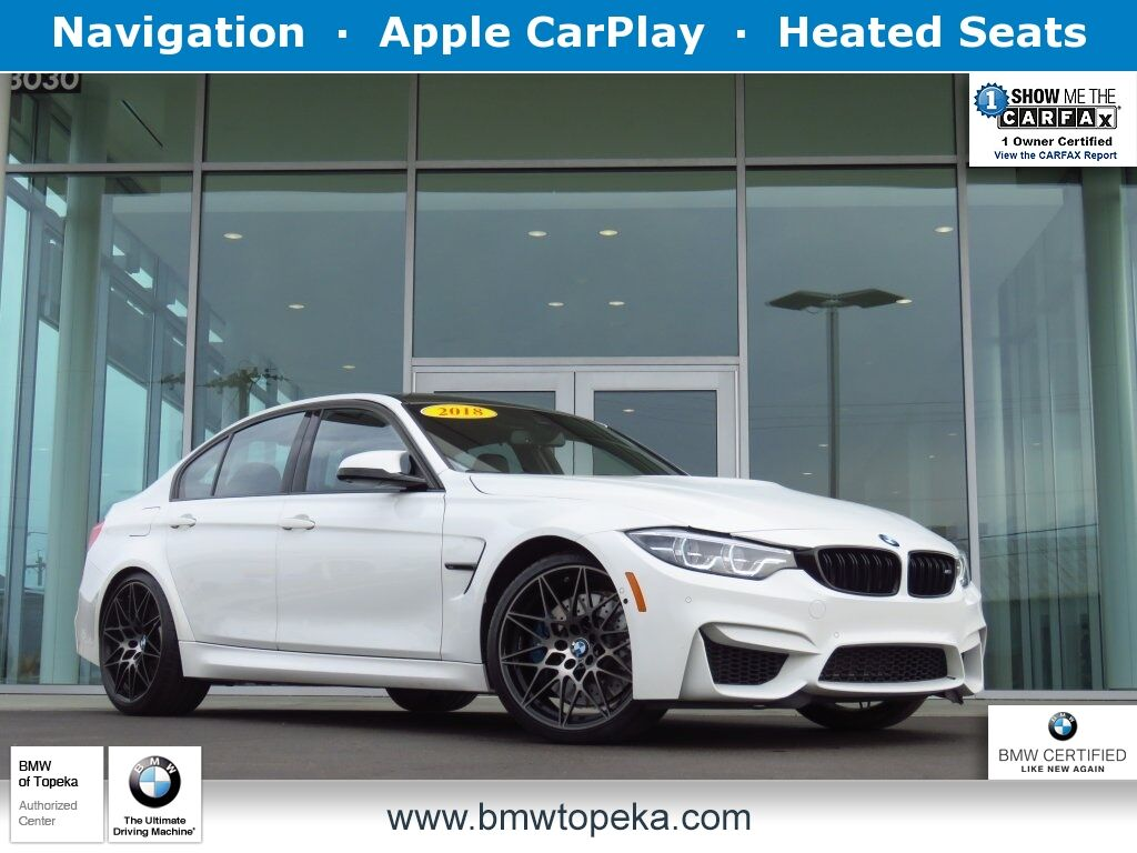 2018 BMW M3 Base Topeka KS