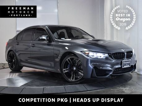 2018_BMW_M3_Competition Pkg Adaptive Suspension Head-Up Disp._ Portland OR