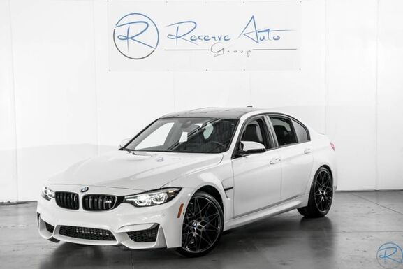 2018_BMW_M3 Twin Turbo_Sedan Competition & Executive Pkg Blind Spot Detection_ The Colony TX