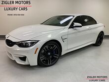 2018_BMW_M4_Convertible 7kmi Carbon Fiber interior Blind Spot Apple car Play_ Addison TX