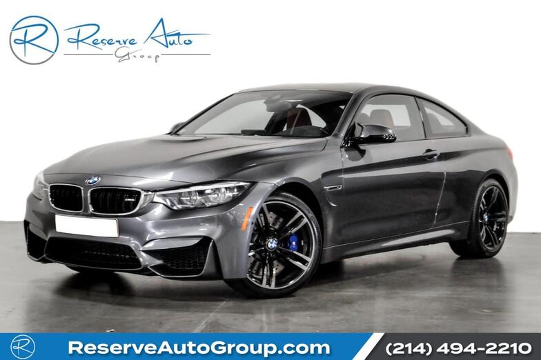 2018 BMW M4 Coupe Executive Pkg 19 Forged Alloys Blind Spot Driving Asst The Colony TX
