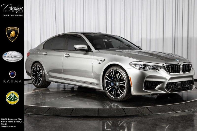 2018_BMW_M5__ North Miami Beach FL