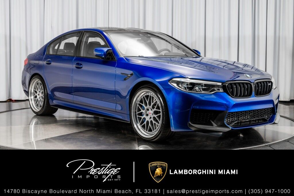 2018 BMW M5 North Miami Beach FL