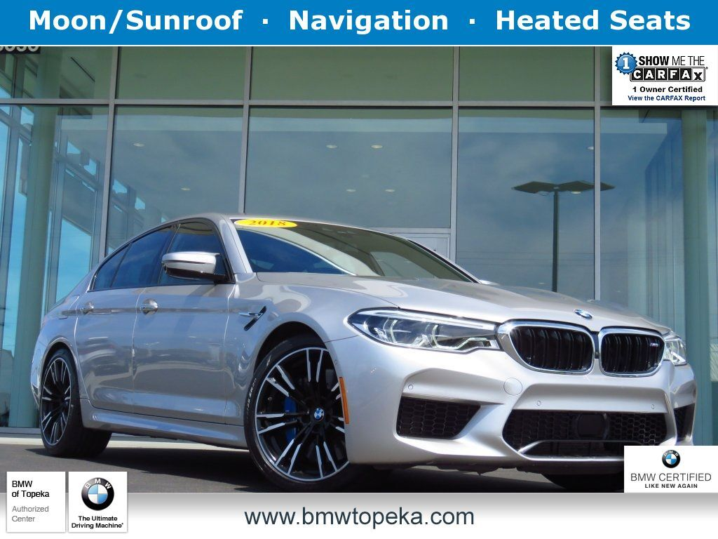 2018 BMW M5 Base Topeka KS