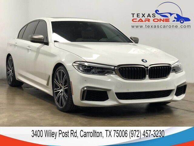 2018 BMW M550i xDrive AWD DRIVER ASSIST PKG PARK ASSIST PKG BLIND SPOT ASSIST LANE KEE Carrollton TX