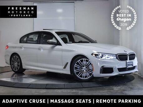 2018_BMW_M550i_xDrive Adaptive Cruise Climate Massage Seats_ Portland OR