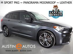 2018_BMW_X1 sDrive28i_*M SPORT PKG, PANORAMA MOONROOF, BACKUP-CAMERA, DAKOTA LEATHER, HEATED SEATS/STEERING WHEEL, COMFORT ACCESS, 19 INCH WHEELS, BLUETOOTH PHONE & AUDIO_ Round Rock TX