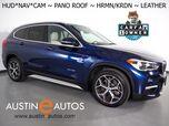 2018 BMW X1 sDrive28i *XLINE, HEADS-UP DISPLAY, NAVIGATION, BACKUP-CAMERA, PANORAMA MOONROOF, DAKOTA LEATHER, HEATED SEATS/STEERING WHEEL, HARMAN KARDON, BLUETOOTH