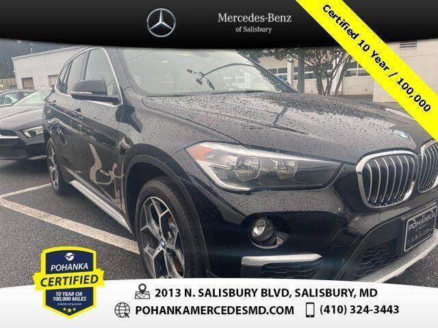 2018 BMW X1 xDrive28i AWD ** Pohanka Certified 10 year / 100,000 ** Salisbury MD