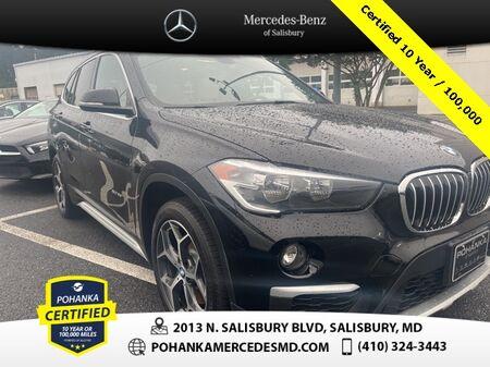 2018_BMW_X1_xDrive28i AWD ** Pohanka Certified 10 year / 100,000 **_ Salisbury MD