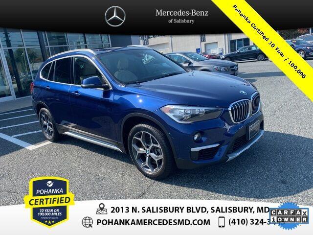 2018 BMW X1 xDrive28i AWD ** Pohanka Certified Salisbury MD