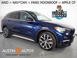 2018_BMW_X1 xDrive28i AWD_*XLINE, NAVIGATION, BACKUP-CAMERA, PANORAMA MOONROOF, COMFORT ACCESS, 19 INCH WHEELS, PARKING ASSISTANT, APPLE CARPLAY_ Round Rock TX