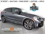 2018 BMW X2 sDrive28i *M SPORT PKG, NAVIGATION, BACKUP-CAMERA, PANORAMA MOONROOF, DAKOTA LEATHER, HEATED SEATS/STEERING WHEEL, APPLE CARPLAY
