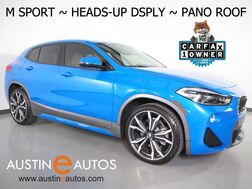 2018_BMW_X2 sDrive28i_*M SPORT X PKG, HEADS-UP DISPLAY, NAVIGATION, BACKUP-CAMERA, PANORAMA MOONROOF, LEATHER, HEATED SEATS/STEERING WHEEL, LED HEADLIGHTS, APPLE CARPLAY_ Round Rock TX