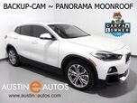 2018 BMW X2 sDrive28i *PANORAMA MOONROOF, BACKUP-CAMERA, DAKOTA LEATHER, HEATED SEATS/STEERING WHEEL, POWER LIFTGATE, COMFORT ACCESS, BLUETOOTH PHONE & AUDIO