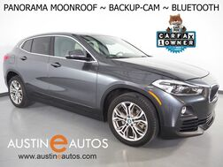 2018_BMW_X2 sDrive28i_*PANORAMA MOONROOF, BACKUP-CAMERA, HEATED FRONT BUCKET SEATS, HEATED STEERING WHEEL, POWER LIFTGATE, COMFORT ACCESS, BLUETOOTH PHONE & AUDIO_ Round Rock TX