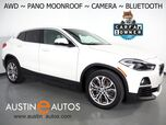 2018 BMW X2 xDrive28i AWD *PANORAMA MOONROOF, BACKUP-CAMERA, HEATED SEATS, HEATED STEERING WHEEL, POWER LIFTGATE, 18 INCH ALLOYS, BLUETOOTH PHONE & AUDIO