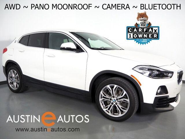 2018 BMW X2 xDrive28i AWD *PANORAMA MOONROOF, BACKUP-CAMERA, HEATED SEATS, HEATED STEERING WHEEL, POWER LIFTGATE, 18 INCH ALLOYS, BLUETOOTH PHONE & AUDIO Round Rock TX