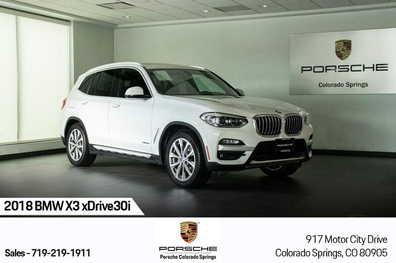 2018 BMW X3 xDrive30i Colorado Springs CO