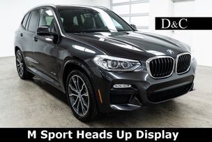 2018 BMW X3 xDrive30i M Sport Heads Up Display