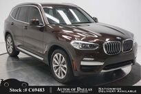 BMW X3 xDrive30i NAV,CAM,PANO,HTD STS,18IN WHLS 2018