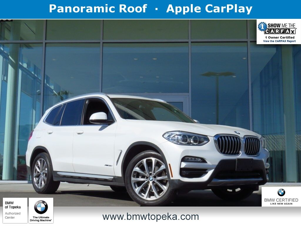 2018 BMW X3 xDrive30i Topeka KS