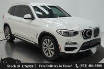 BMW X3 xDrive30i X LINE,CAM,PARK ASST,18IN WLS 2018
