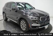 BMW X3 xDrive30i X LINE,DRVR ASST,NAV,CAM,PANO,HTD STS 2018