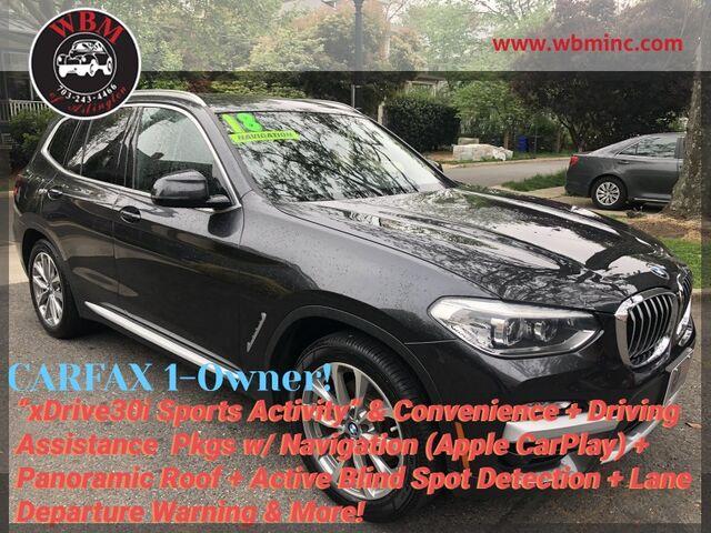 2018 BMW X3 xDrive30i w/ Premium Package Arlington VA