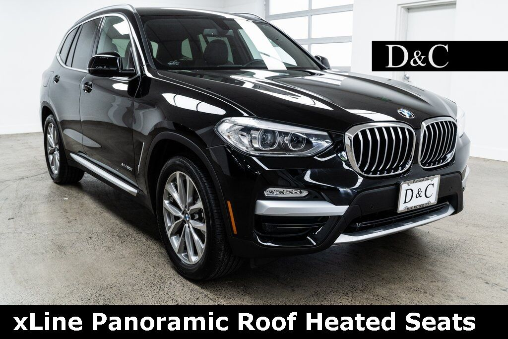 2018 BMW X3 xDrive30i xLine Panoramic Roof Heated Seats Portland OR