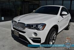 2018_BMW_X4_xDrive28i AWD / Premium Pkg / Cold Weather Pkg / Driving Assistance Pkg / Front & Rear Heated Seats / Heated Steering Wheel / HUD / Lane Departure & Blind Spot / Navigation / Sunroof / Only 26k Miles_ Anchorage AK