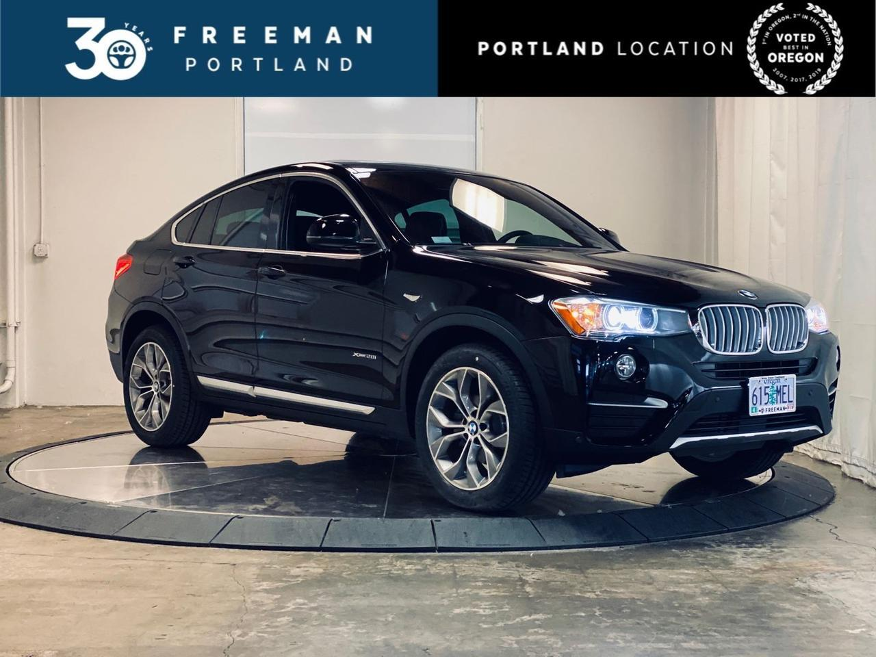 2018 BMW X4 xDrive28i Active Blind Spot Detection Apple CarPlay Portland OR