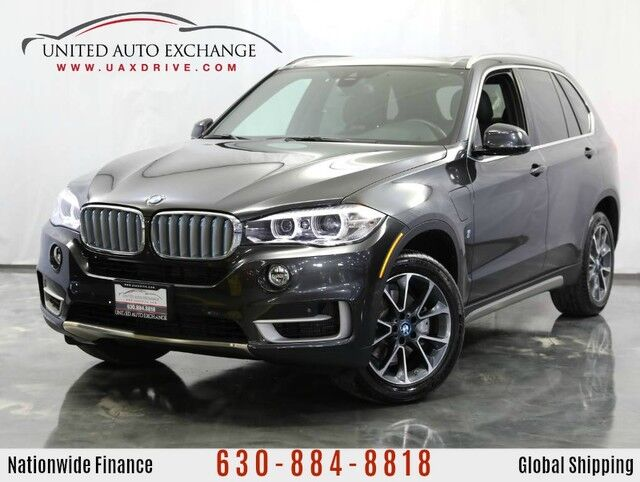 2018 BMW X5 2.0L Engine AWD xDrive40e **iPerformance Plug-in Hybrid** w/ Navigation, Bluetooth, Front and Rear Parking Aid with Rear View Camera, Panoramic Sunroof, Heated Seats Addison IL