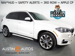 2018_BMW_X5 sDrive35i_*LUXURY PKG, HEADS-UP DISPLAY, SAFETY ALERTS, NAVIGATION, ADAPTIVE CRUISE, LUX SEATING PKG, 3RD ROW SEATING, SIDE/READ/TOP CAMERAS, APPLE CARPLAY_ Round Rock TX